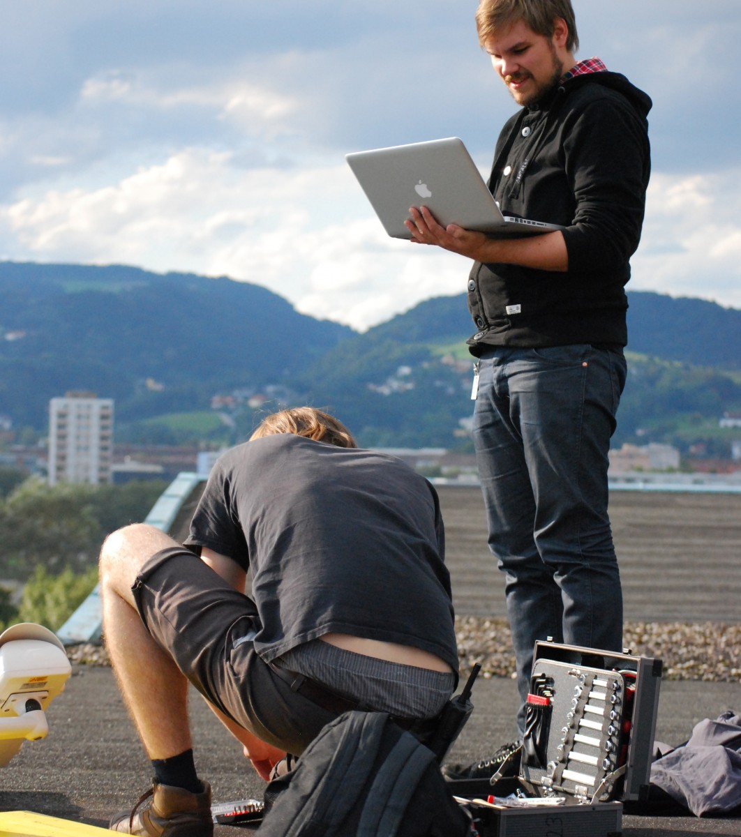 Configuring Action Flocking on the roof