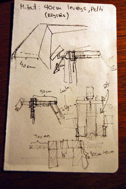 Sketch of Action Flocking mount
