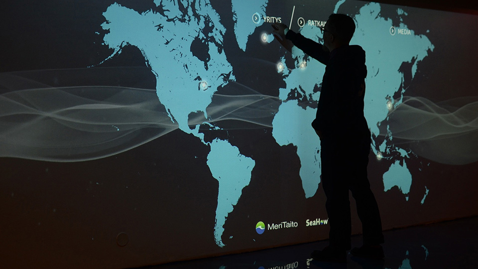 Meritaito - Interactive Lobby