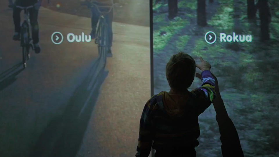 OiOi - MAisema - An immersive way to travel in time and space around Oulu region