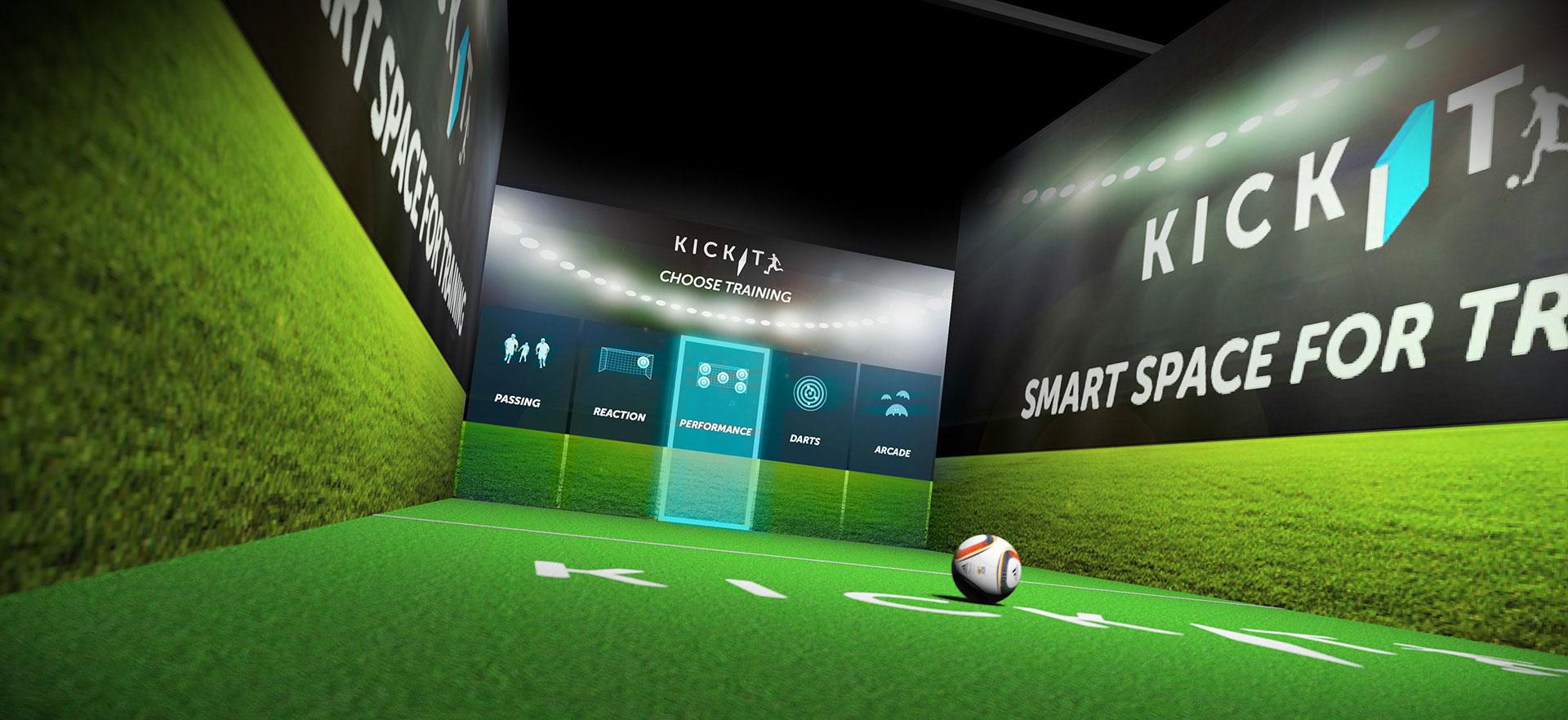 KickIt game arena